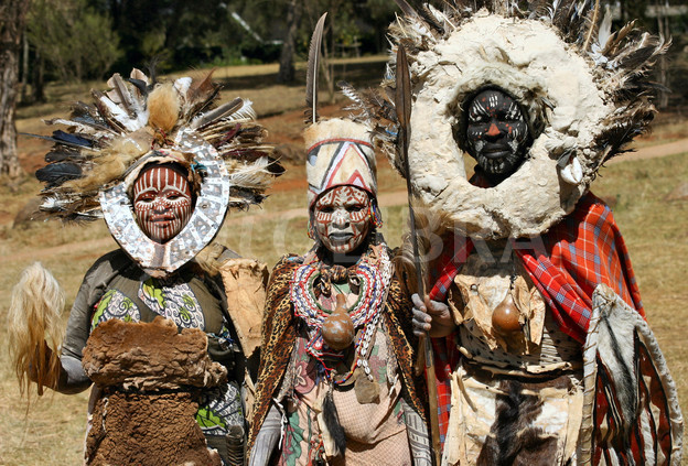 Witch Doctor Kikuyu Family